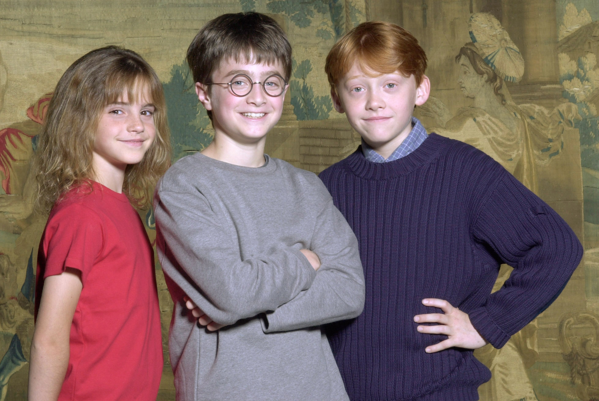Young Harry Ron and Hermione - Harry Potter
