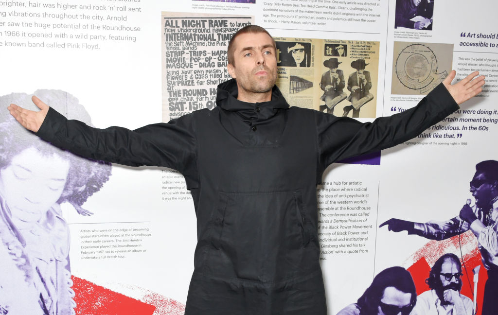 LONDON, ENGLAND - OCTOBER 18:  Liam Gallagher attends The Q Awards 2017, in association with Absolute Radio, at The Roundhouse on October 18, 2017 in London, England.  (Photo by David M. Benett/Dave Benett/Getty Images, BA)