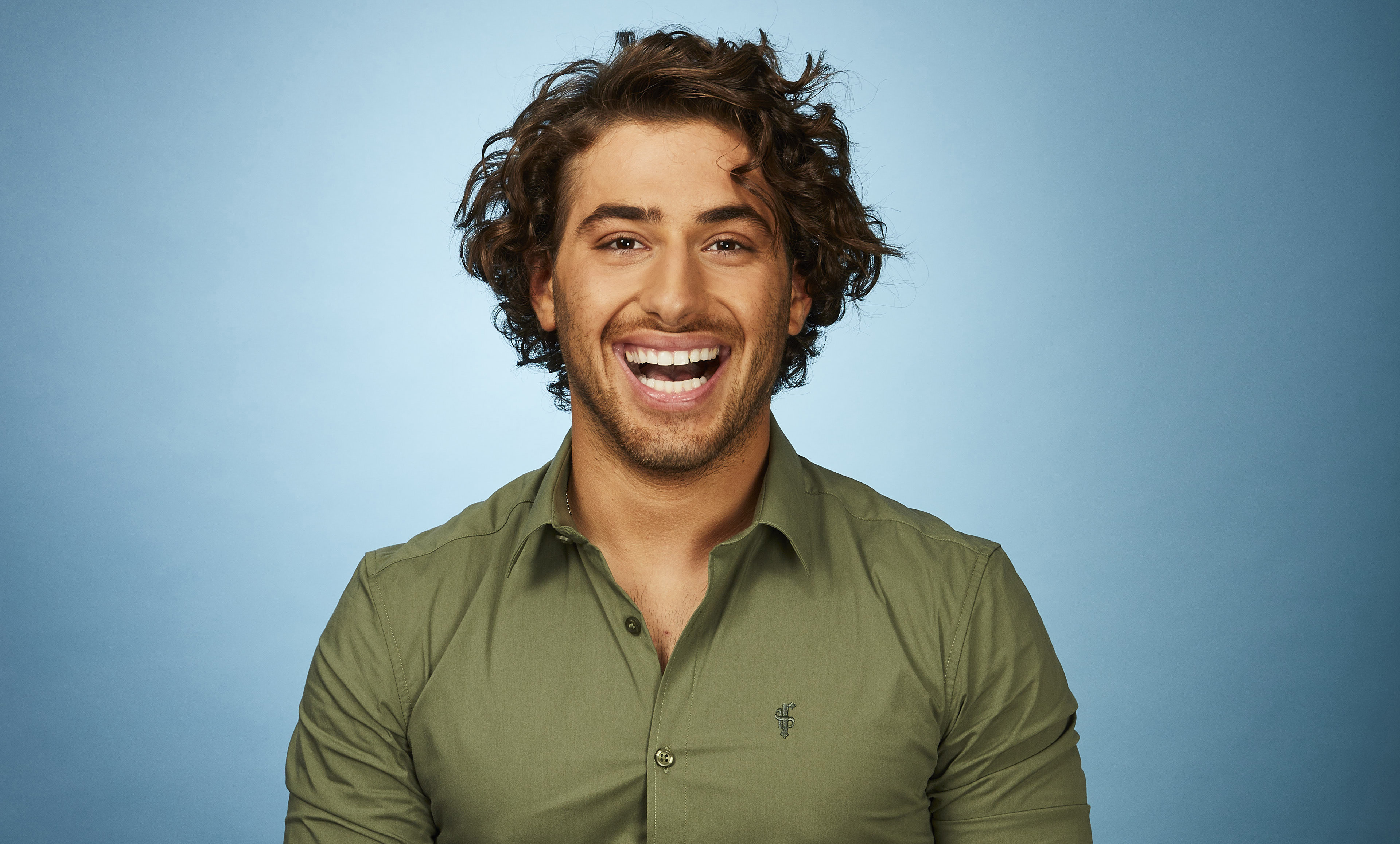 Kem Cetinay on Dancing on Ice 2018