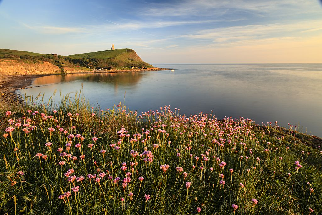 A view across Kimmeridge Bay