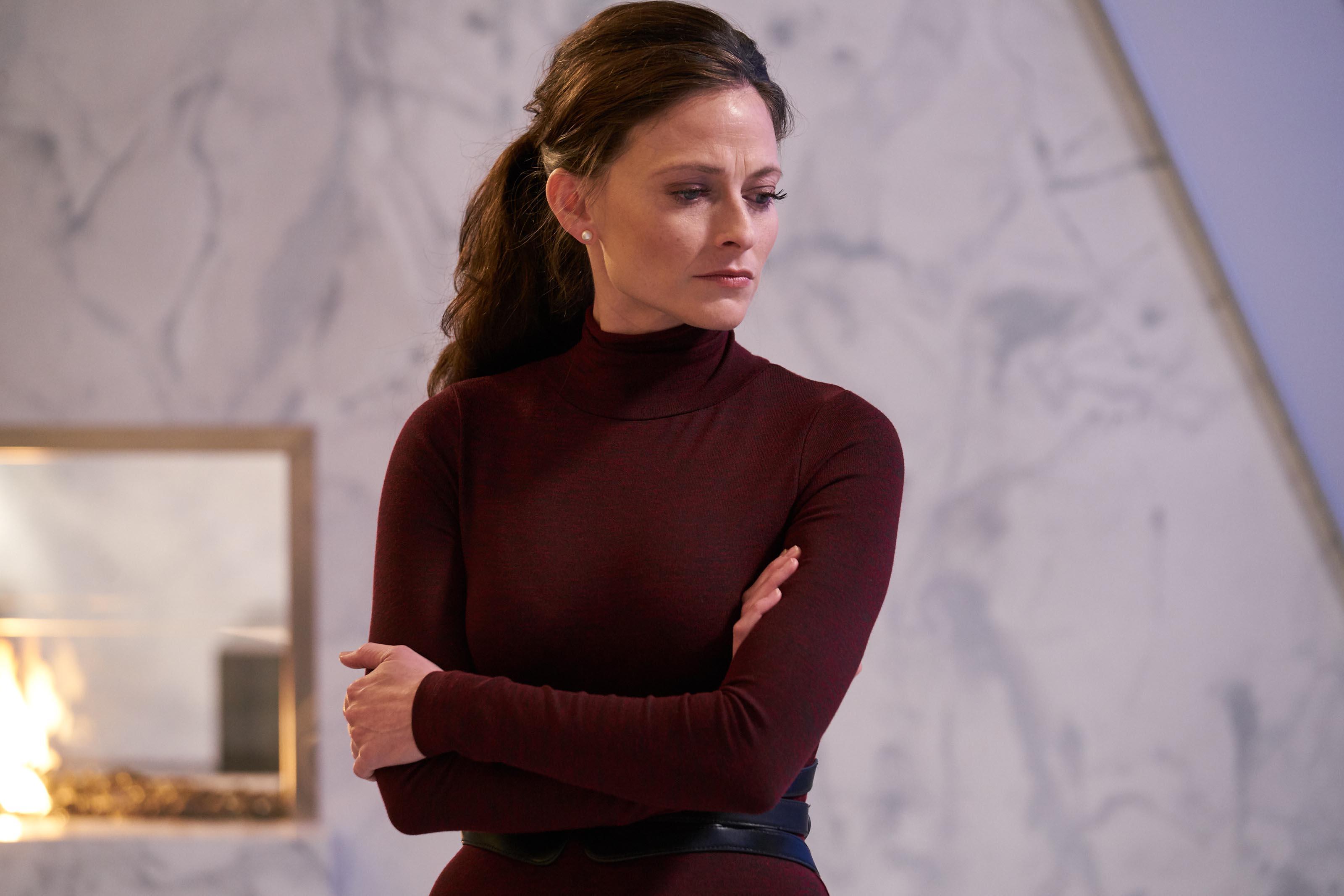Lara Pulver as Paula in Electric Dreams episode Real Life
