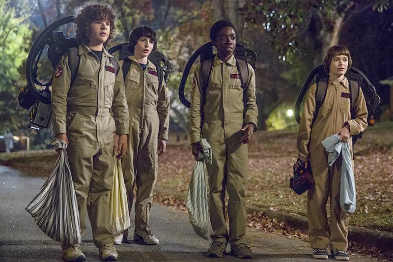 Stranger Things (Netflix, HF)