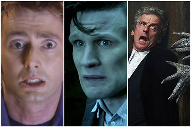Scared Doctors Doctor Who