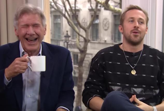 Harrison Ford Ryan Gosling Blade Runner This Morning