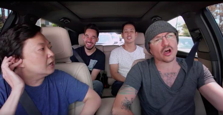 Chester Bennington: Carpool Karaoke and Mercedes pays homage