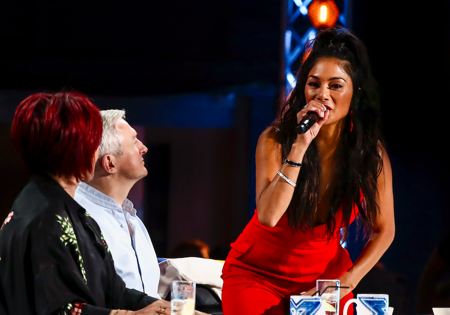Nicole Scherzinger angry at Simon Cowell on The X Factor 2017