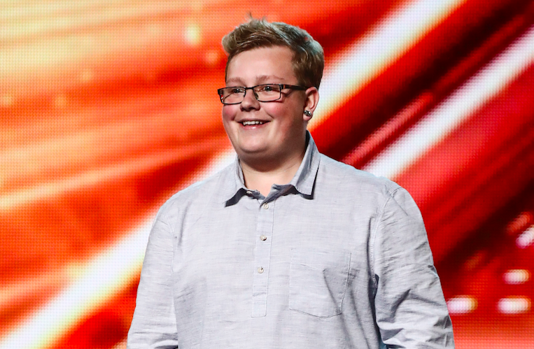 Jack Mason on The X Factor 2017