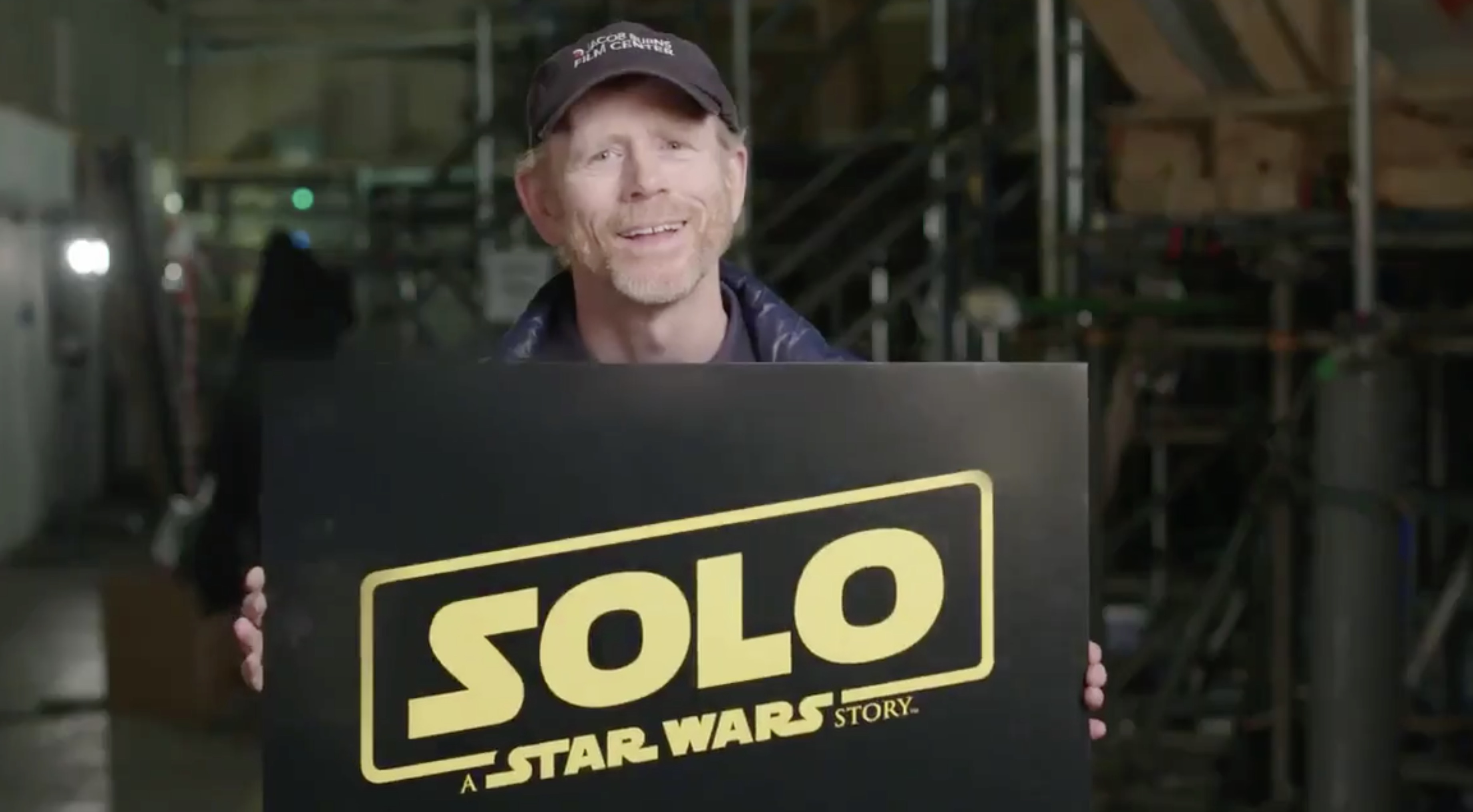 Ron Howard reveals Star Wars Han Solo movie title (Twitter, JG)