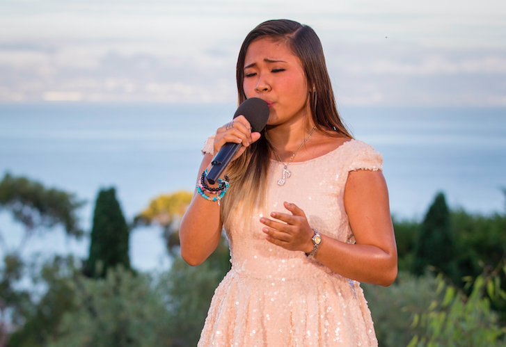 Alisah Banaobra on The X Factor 2017
