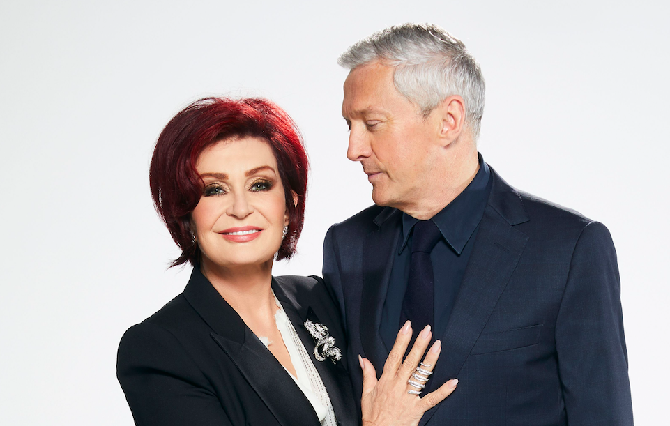 Sharon Osbourne and Louis Walsh on The X Factor 2017