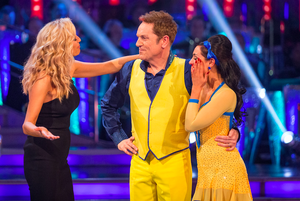 Brian Conley on Strictly Come Dancing