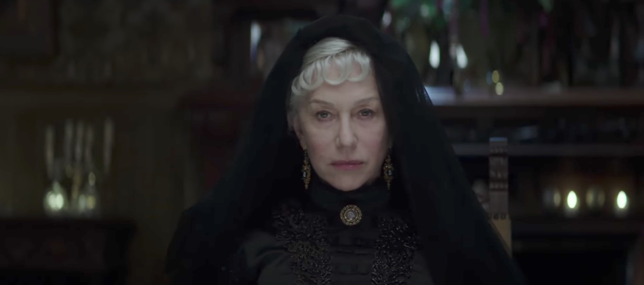 Helen Mirren stars in new horror movie Winchester: The House That Ghosts Built (YouTube, JG)