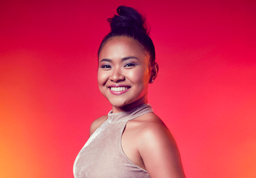 Alisah Bonaobra on The X Factor 2017Alisah Bonaobra on The X Factor 2017