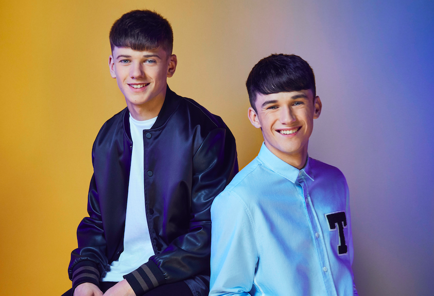 Sean and Conor Price on The X Factor 2017