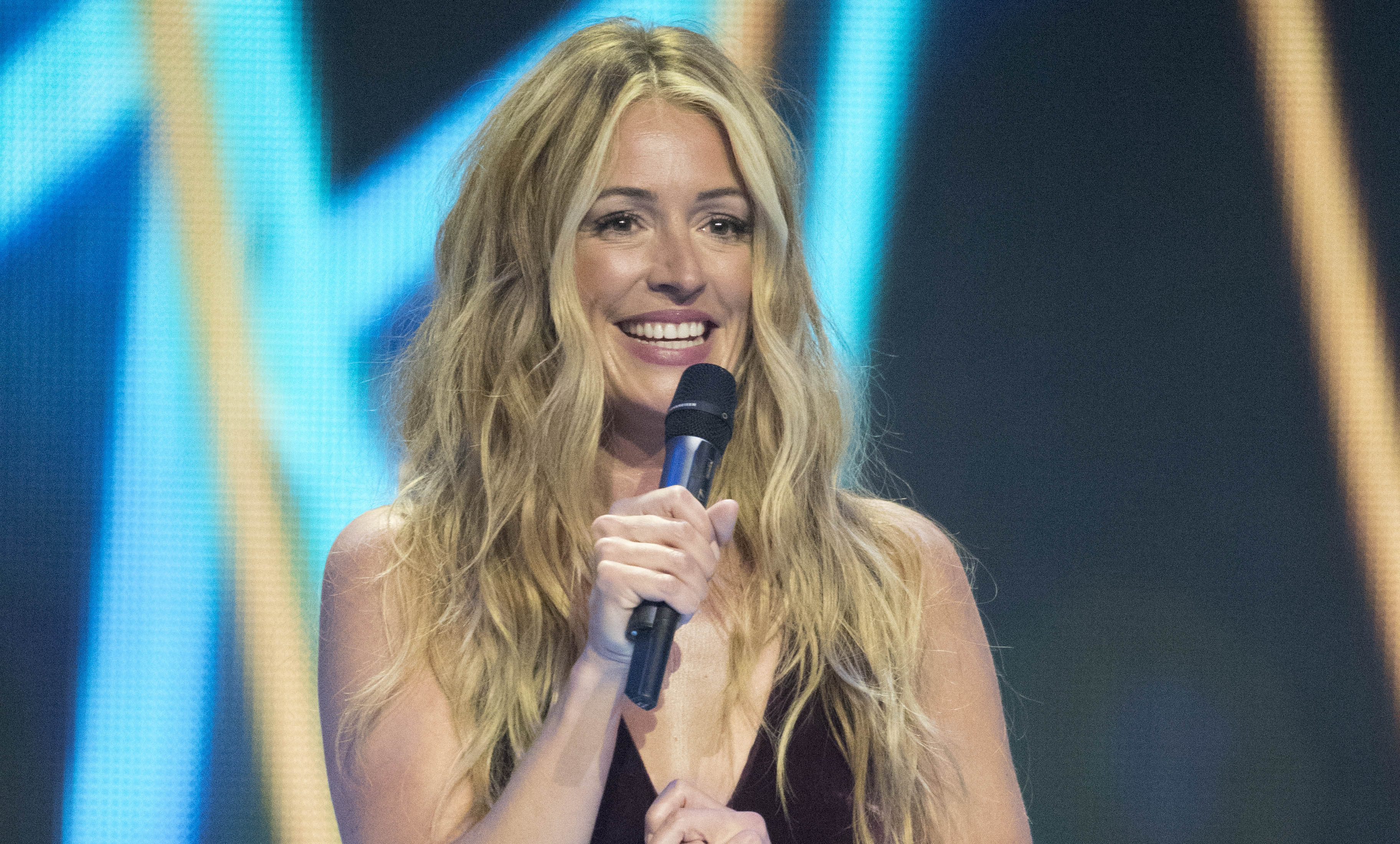 Cat Deeley on Sing: Ultimate A Cappella Sky1