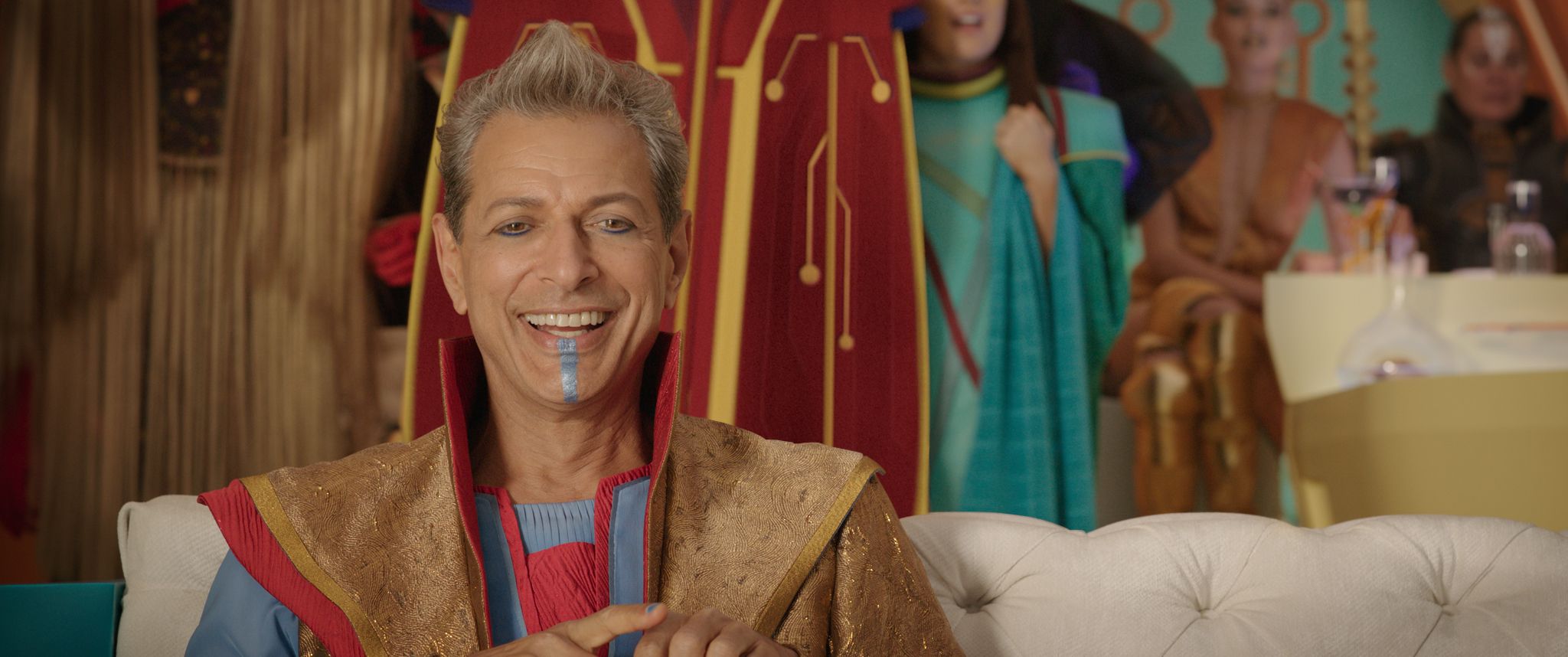 What's so funny? Jeff Goldblum in Thor: Ragnarok (Marvel Studios, JG)