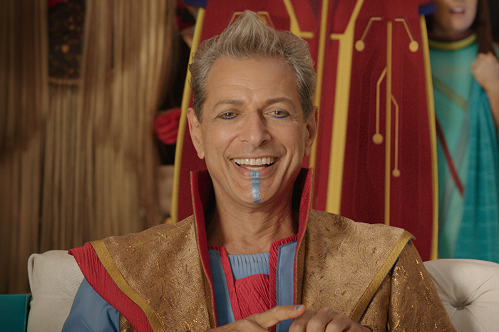 Jeff Goldblum in Thor: Ragnarok (Marvel, HF)