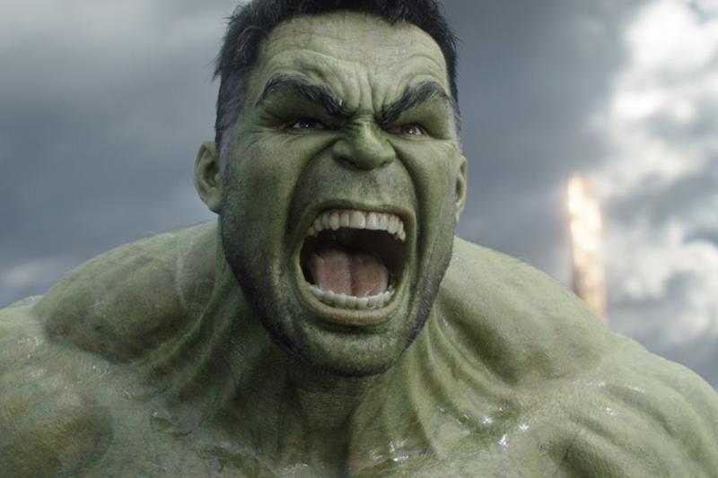 Mark Ruffalo's Hulk in Thor:Ragnarok (Marvel, HF)
