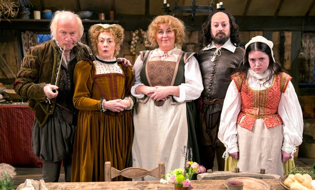 When is Ben Elton's Shakespeare comedy Upstart Crow back on TV ...