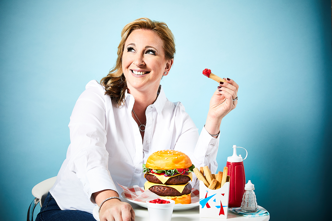 Bake Off 2017's Stacey Hart, photographed exclusively for Radio Times by Richard Grassie