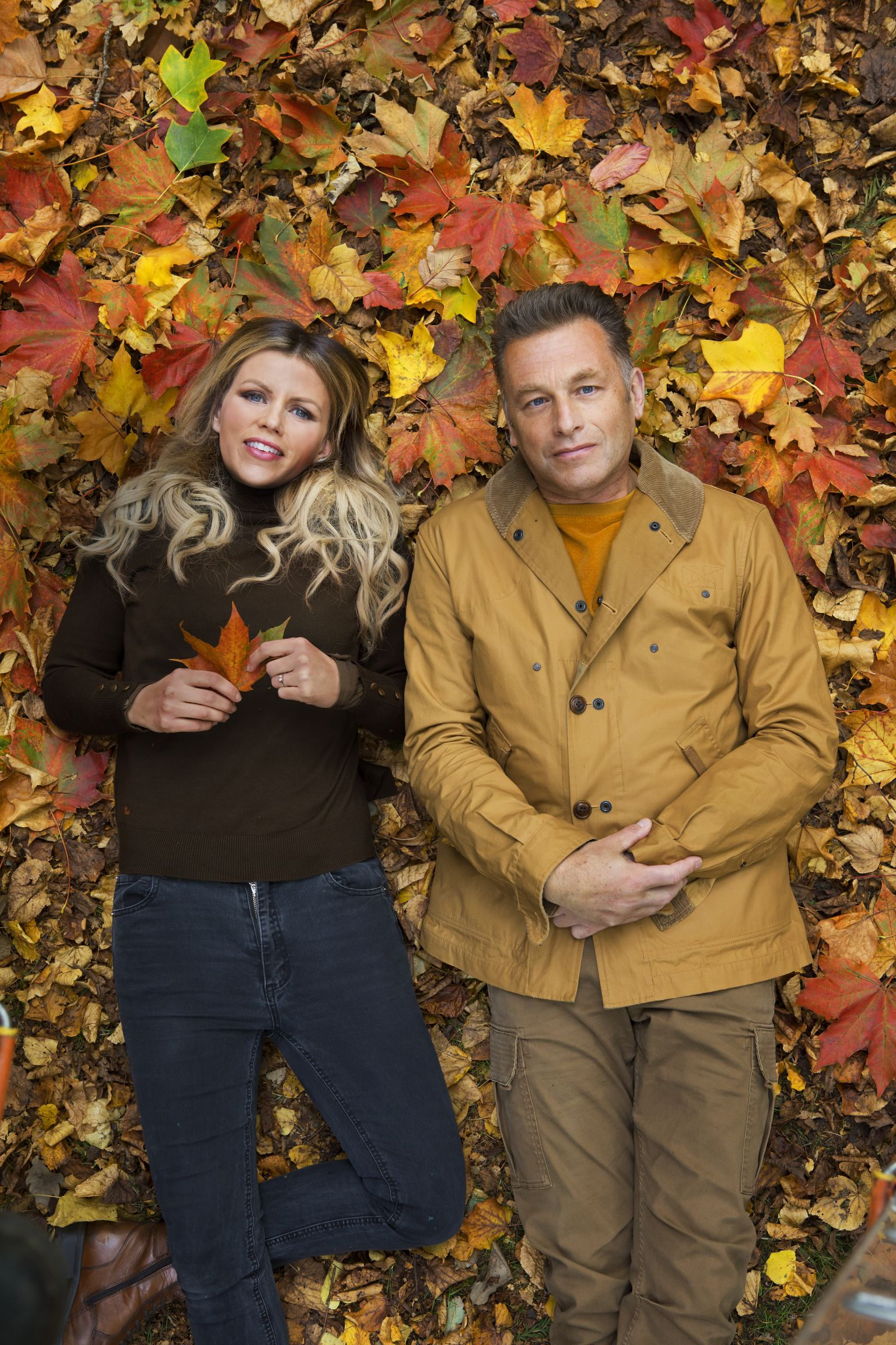 Ellie Harrison and Chris Packham (Andy Earl for Radio times, EH)