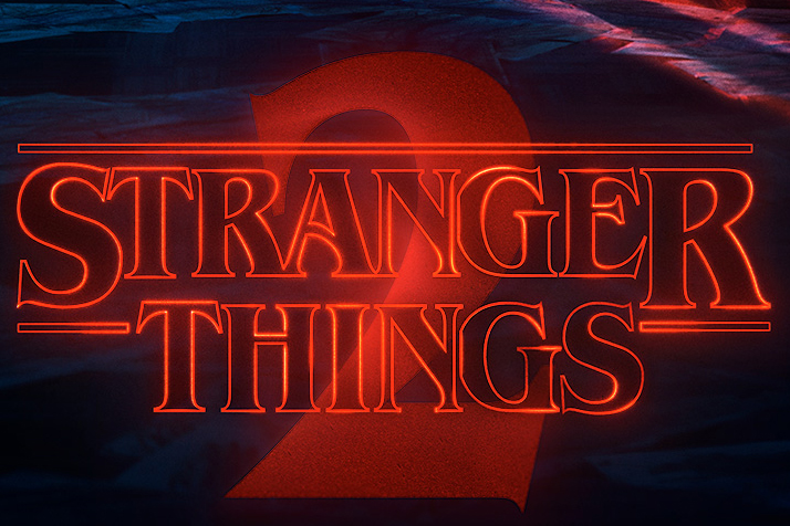 Stranger Things 2 poster (Netflix, JG)