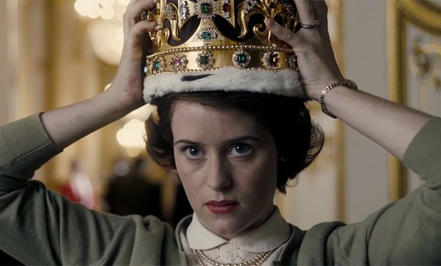 Claire Foy in The Crown (Netflix)