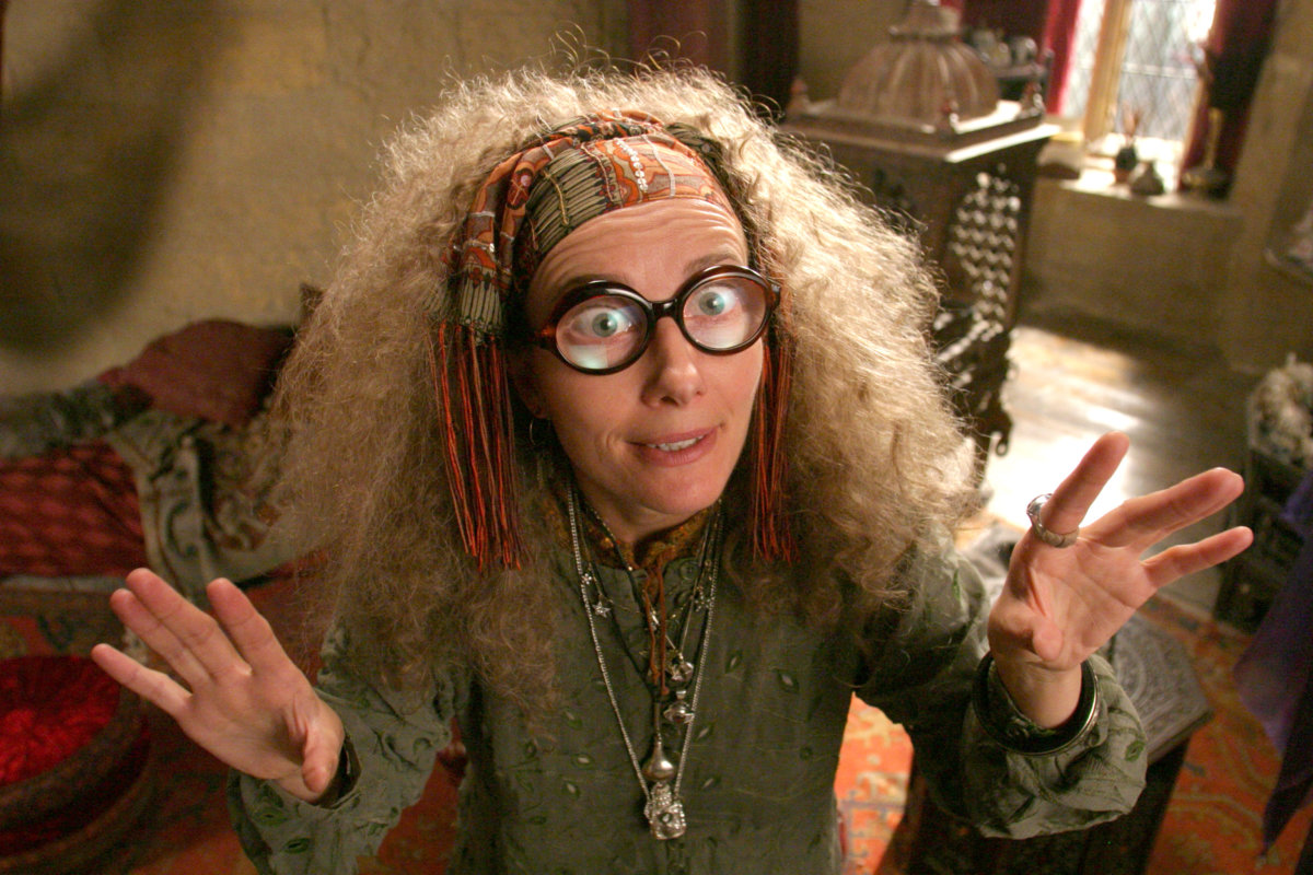 Harry Potter Sybill Trelawney