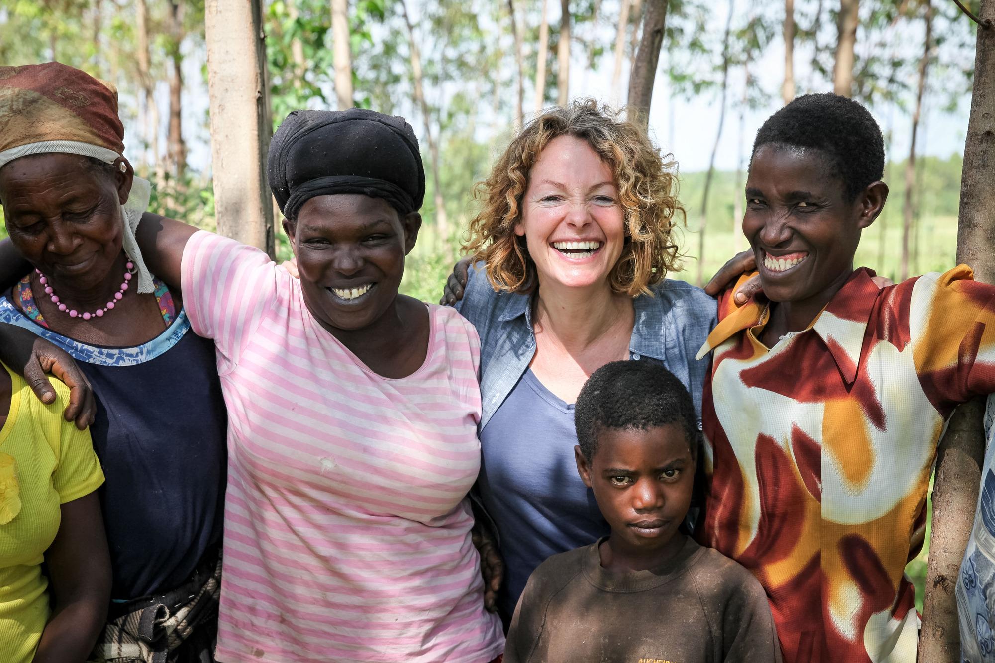 Kate Humble in Kenya (BBC, TL)