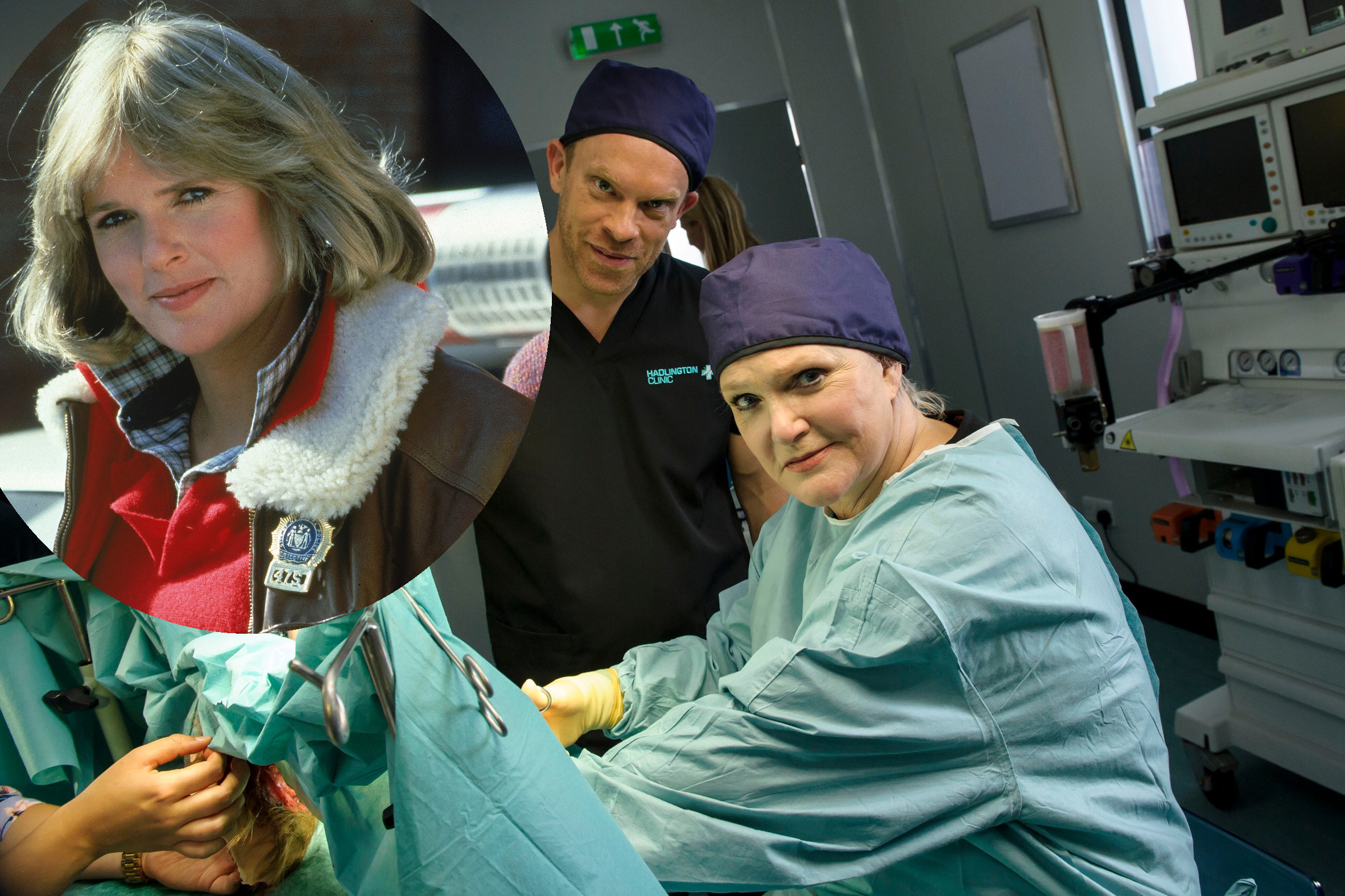 Cagney and Lacey star Sharon Gless in Casualty (Getty/BBC Pictures, JG)