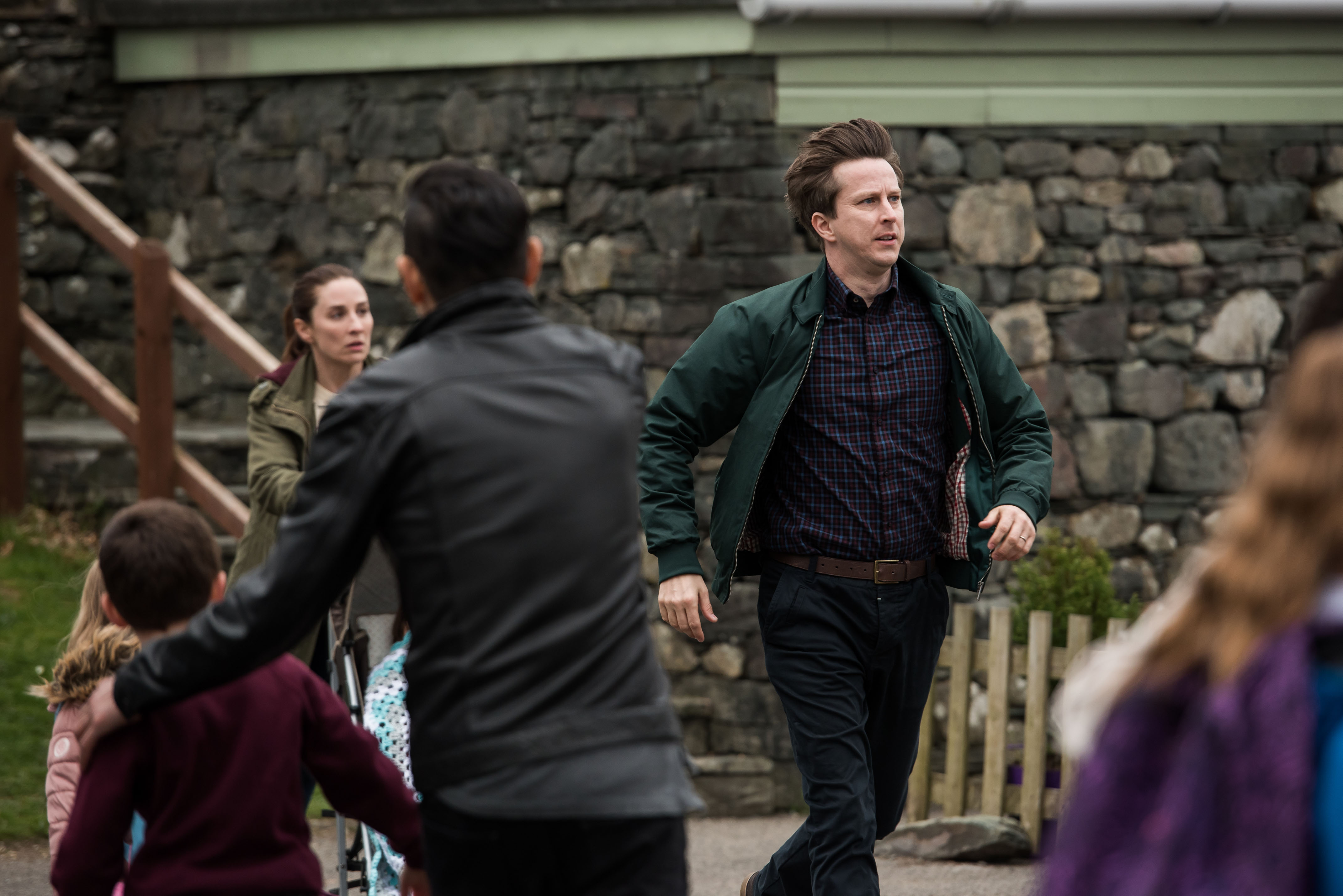 Programme Name: The A word S2 - TX: 07/11/2017 - Episode: n/a (No. n/a) - Picture Shows: Alison Hughes (MORVEN CHRISTIE), Paul Hughes (LEE INGLEBY) - (C) Fifty Fathoms - Photographer: James Stack