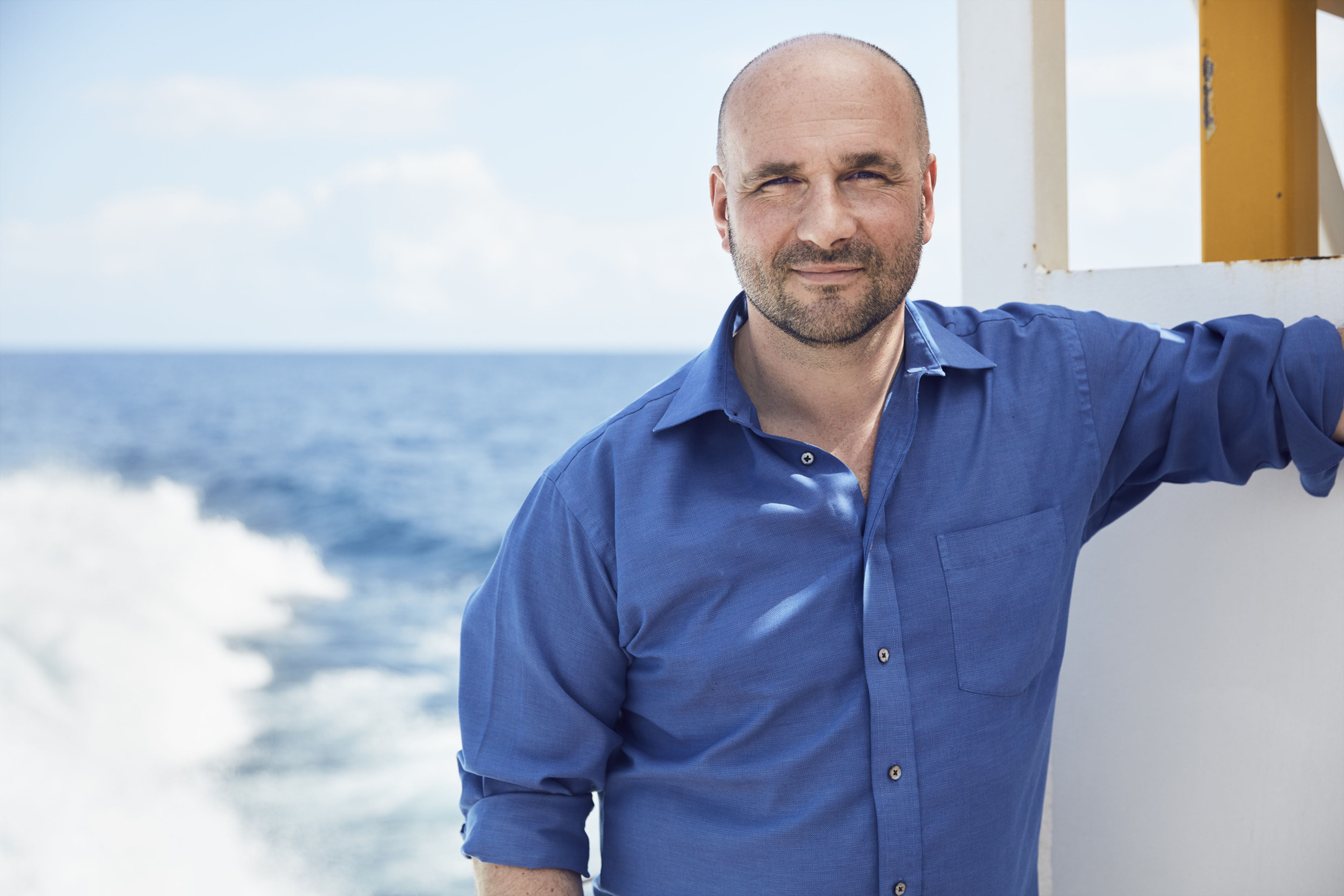 Blue Planet II Executive Producer James Honeyborne (BBC, TL)
