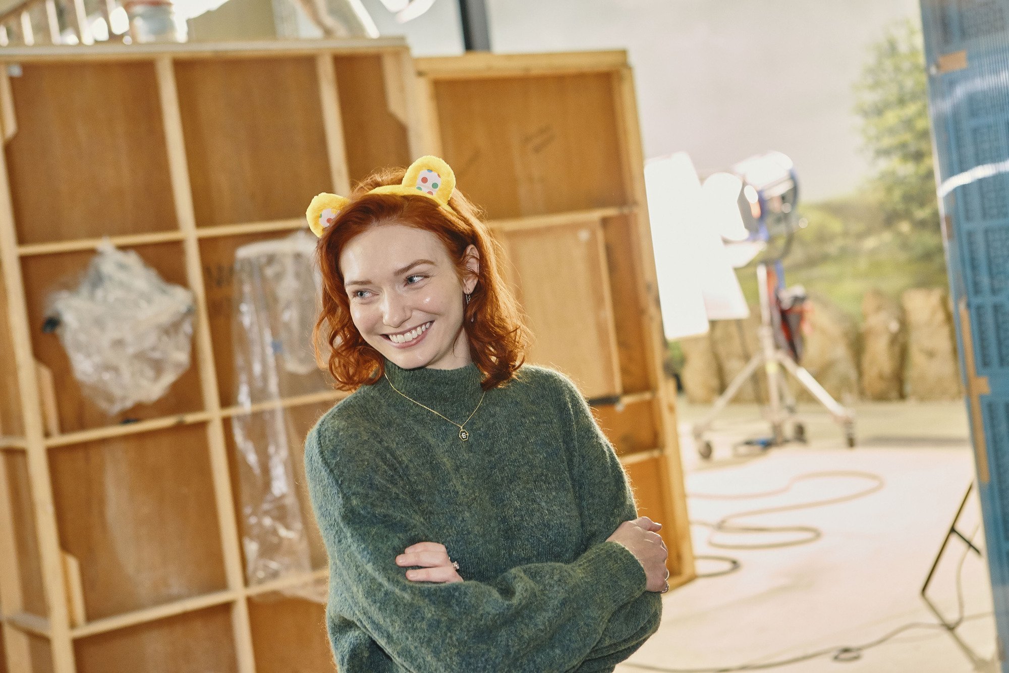 eleanor tomlinson in poldark children in need special