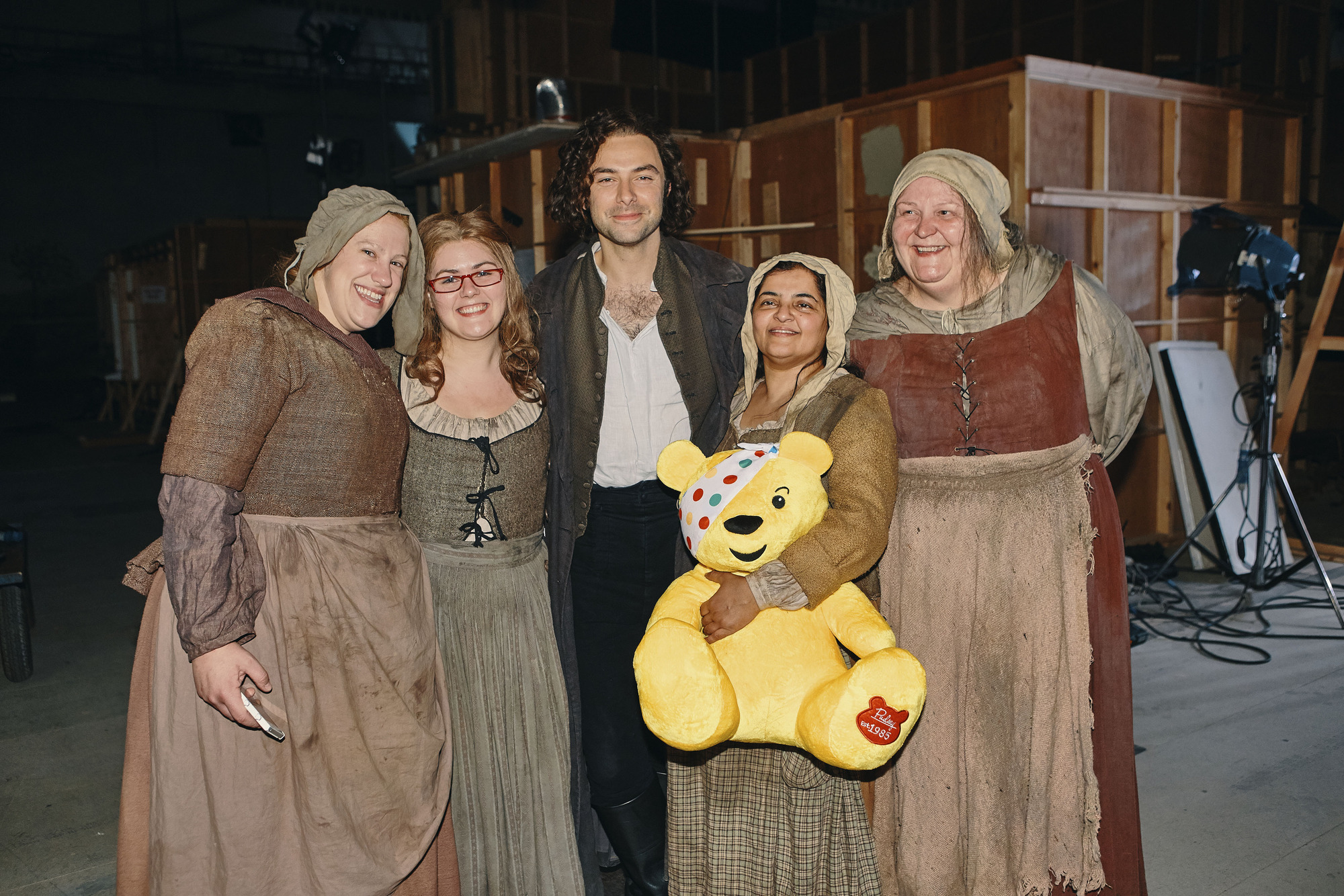 Aidan Turner in the Poldark Children in Need special
