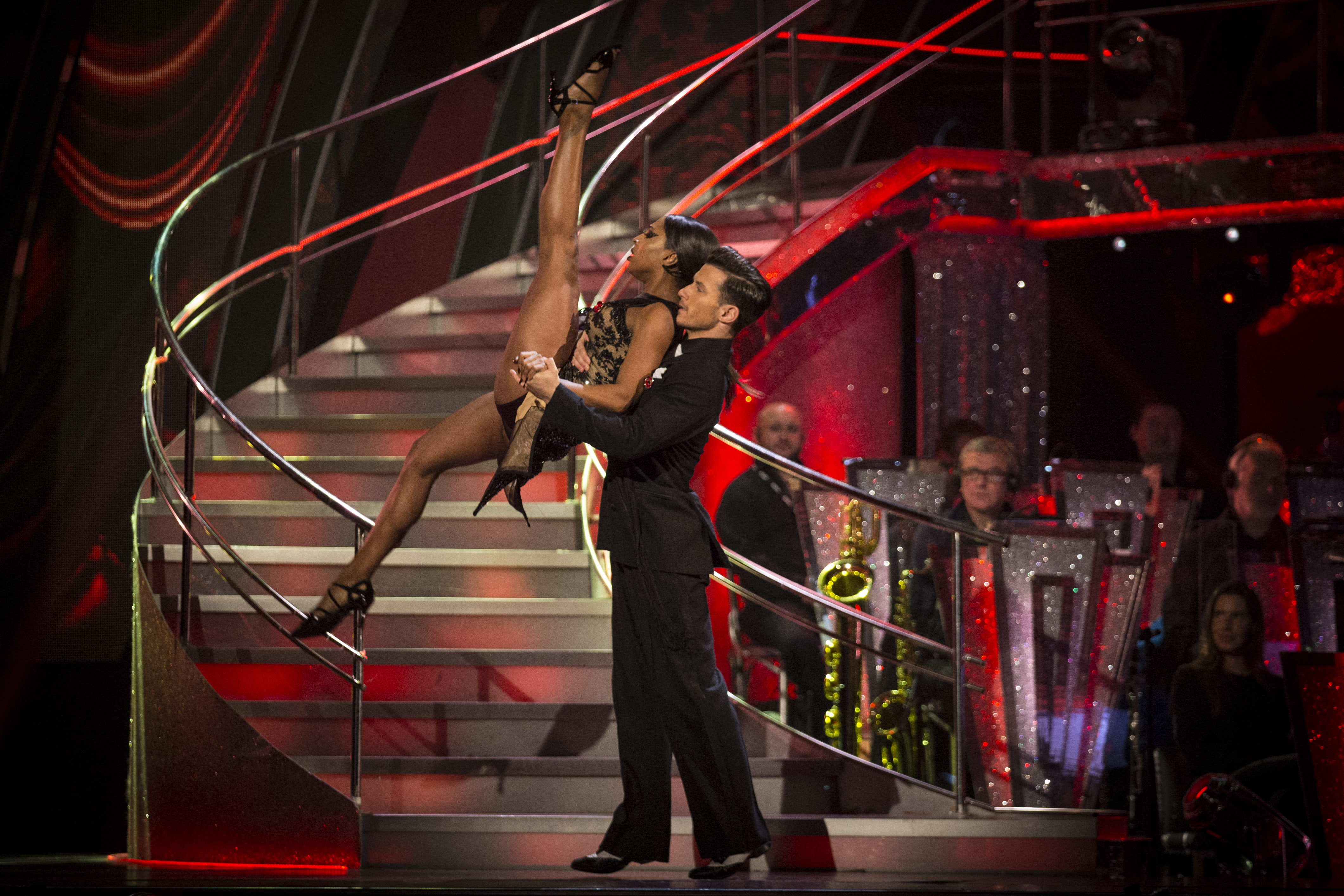 Alexandra Burke Strictly (BBC, EH)