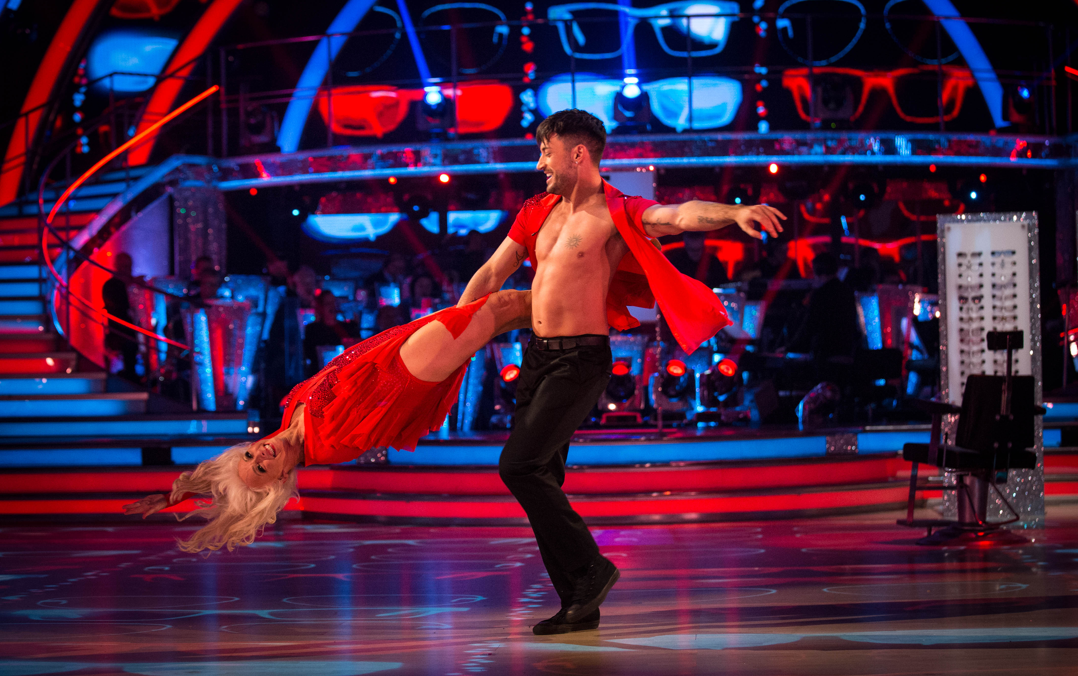 Debbie McGee Strictly (BBC, EH)