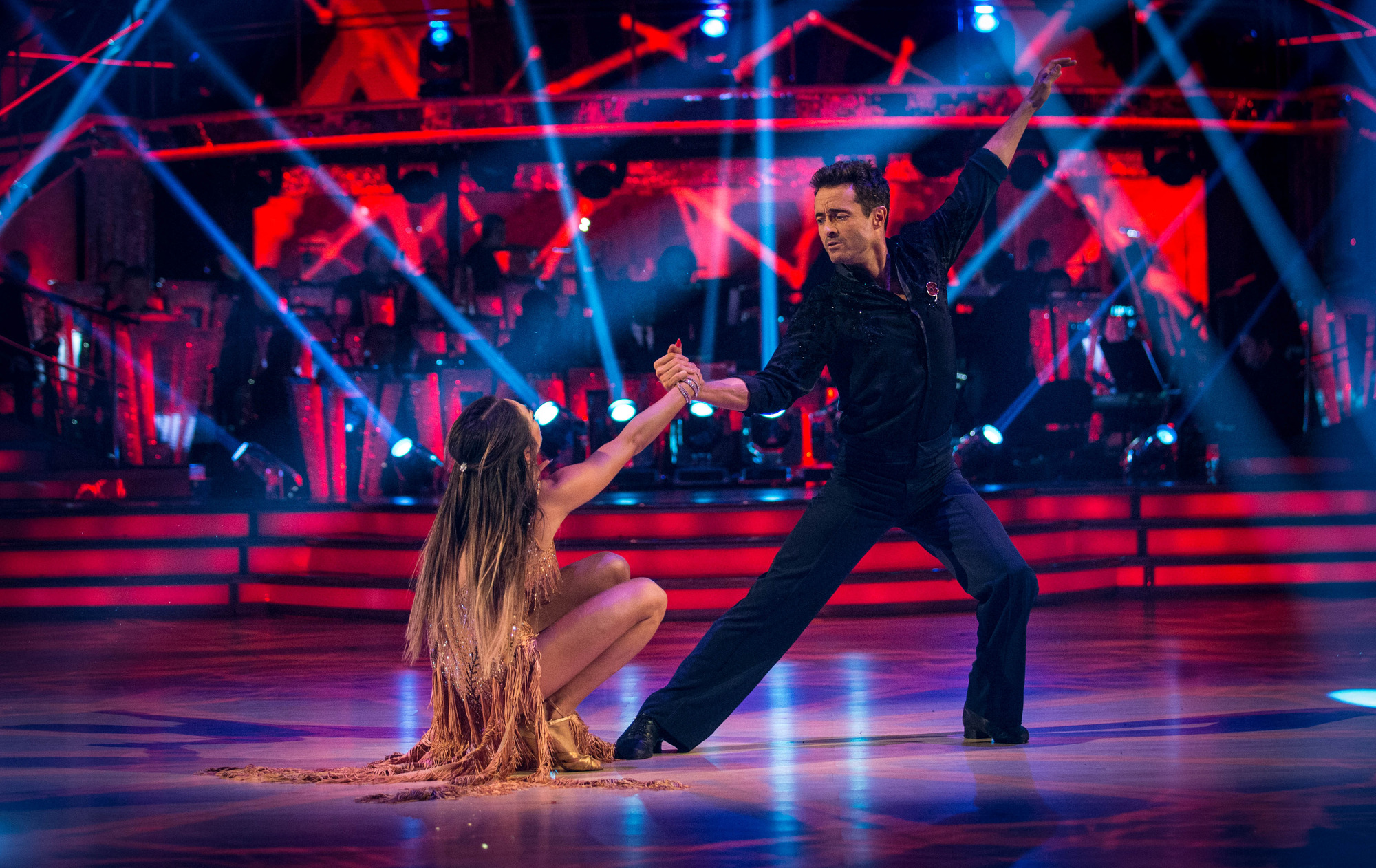 Joe McFadden in Strictly 2017