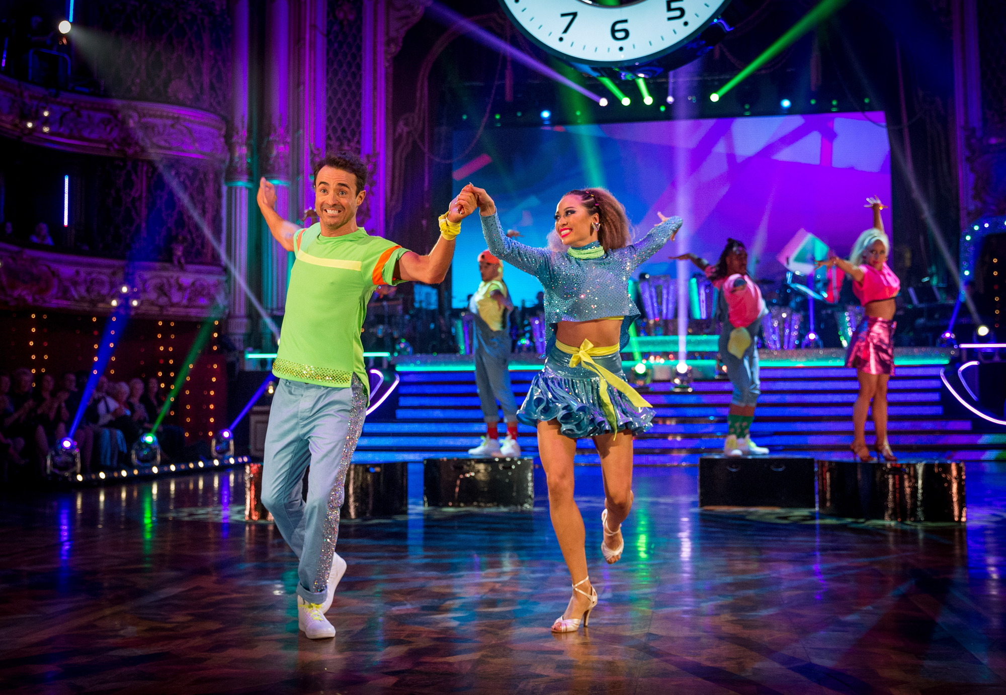 Joe McFadden in Strictly Come Dancing