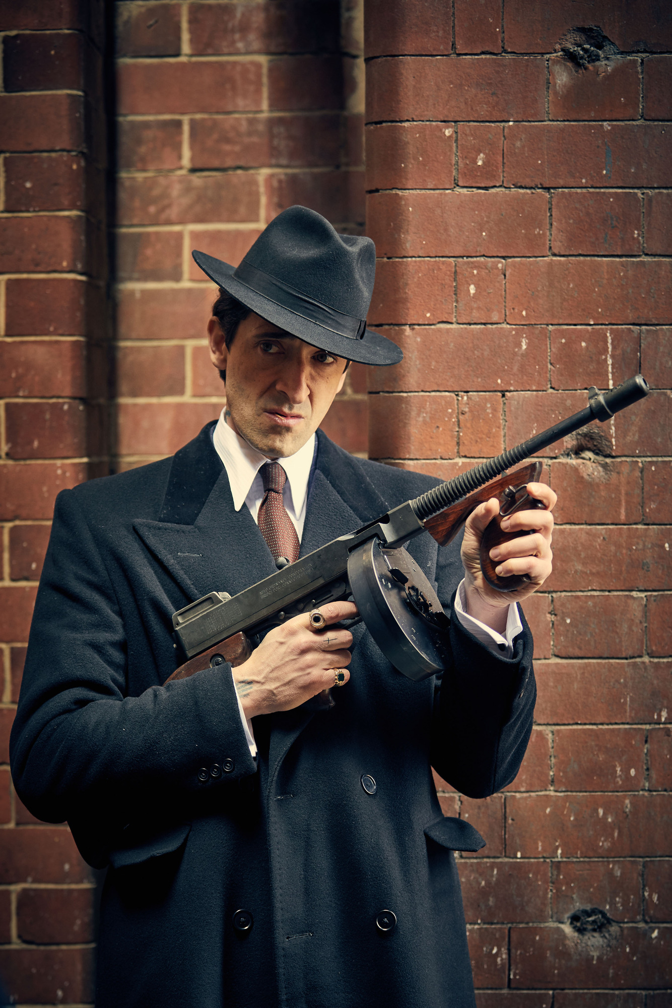 Adrien Brody as Luca Changretta in Peaky Blinders