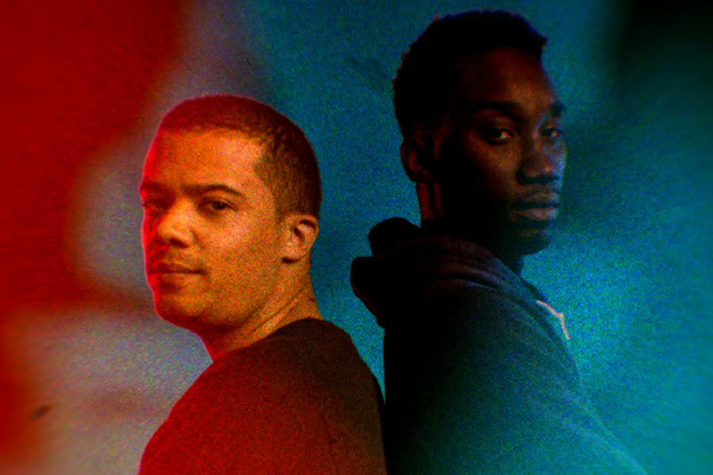 Jacob Anderson and Nathan Stewart-Jarrett in Neil Gaiman's Anansi Boys