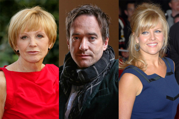 Anne Robinson, Matthew Macfadyen and Ashley Jensen