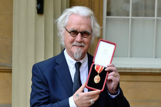 Billy Connolly knightood