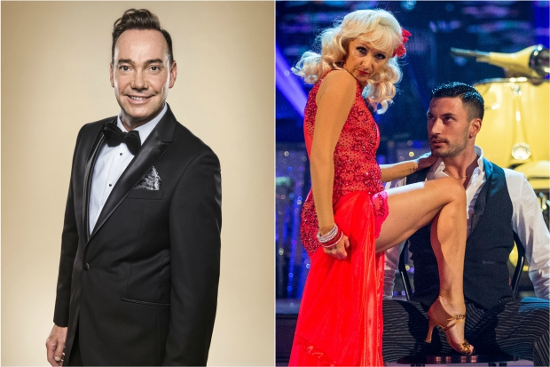 Craig Revel Horwood, Debbie McGee, Giovanni Strictly 2017