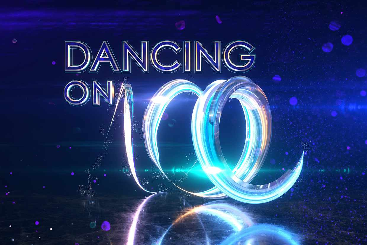Dancing on Ice 2018 logo