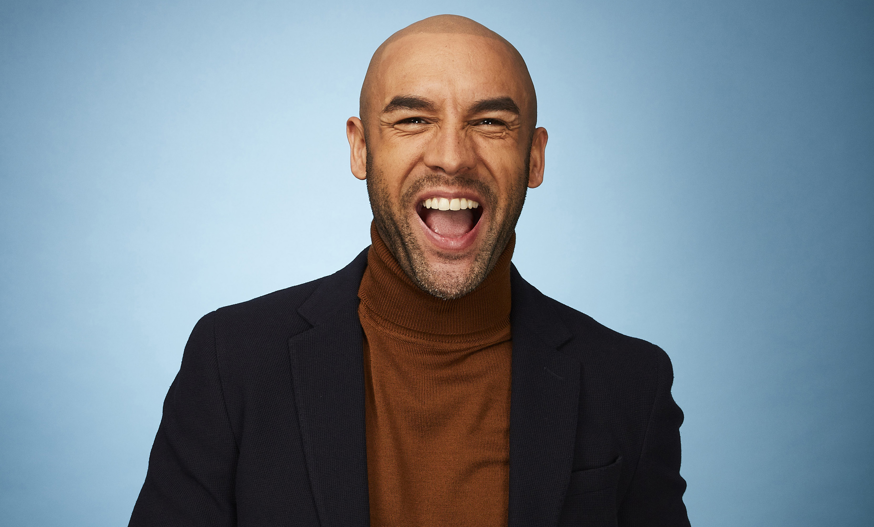 Alex Beresford on Dancing on Ice 2018