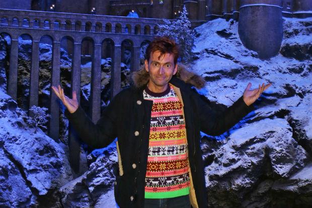 David Tennant at Hogwarts 2