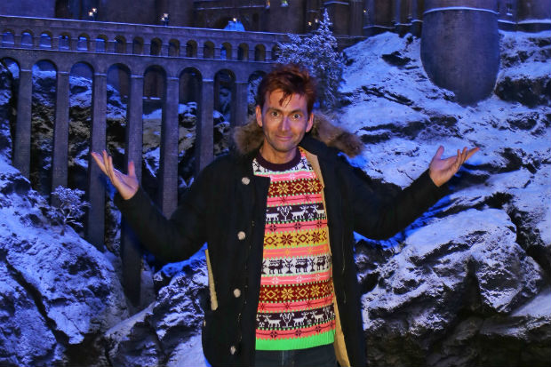 David Tennant at Hogwarts 2