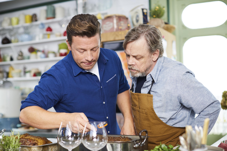 Jamie Oliver and Mark Hamill