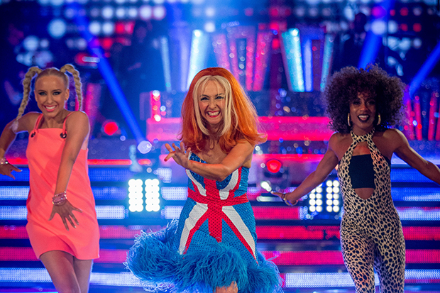 Debbie McGee in Strictly Come Dancing 2017