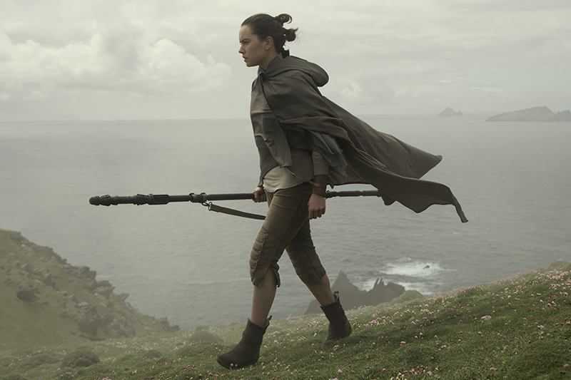 Star Wars: Watch Daisy Ridley's grueling lightsaber training for The Last Jedi
